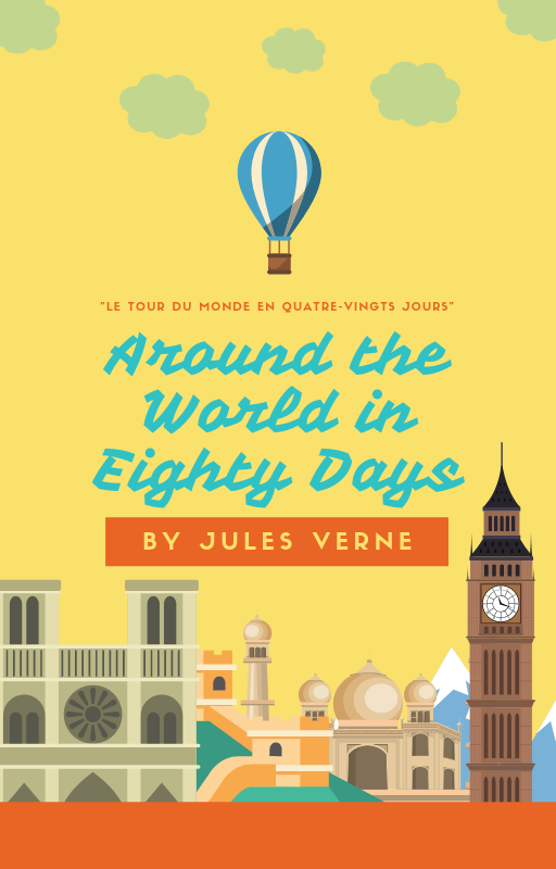 AROUND THE WORLD IN EIGHTY DAYS <br>Read for Free  (Gutenberg Project ™) Image